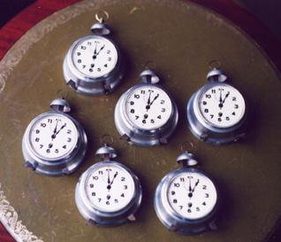 Nest of Alarm Clocks.